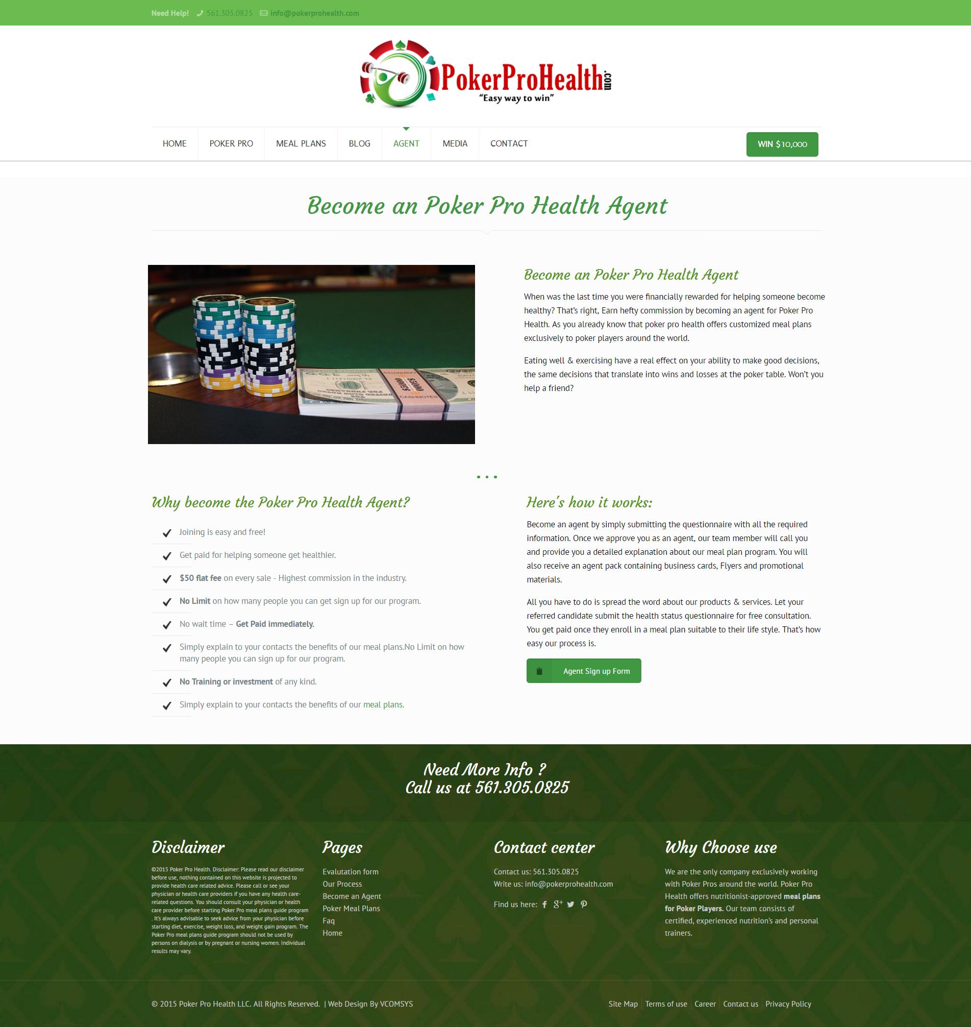 Poker Pro Health