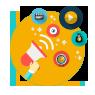 online makreting icons